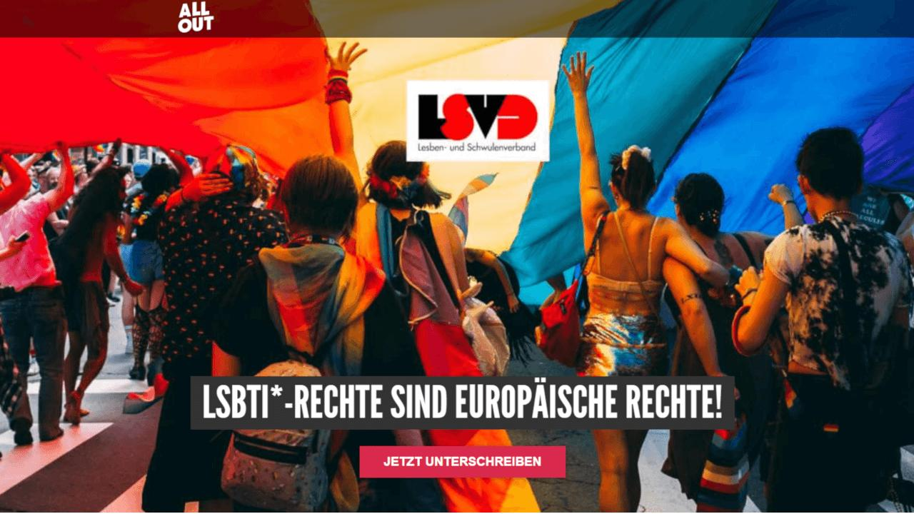Petition LGBT-Rechte in Polen von LSVD auf All Out